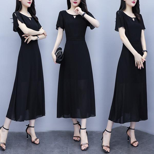 Falda grande, nuevo vestido de verano, 2019