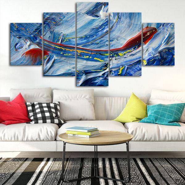 Acquista Canvas Poster Home Decor Wall Art Quadro 5 Pezzi Abstract Style11  Quadri Soggiorno HD Stampe Immagini Moderne A $21.69 Dal Niartwork | ...