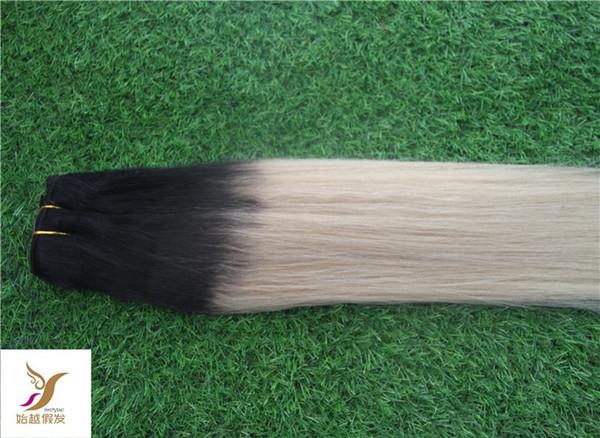 T1/60 Brazilian Straight Hair Weave 1 Bundles Remy Hair Extensions 10-30 inch 100% Human Hair