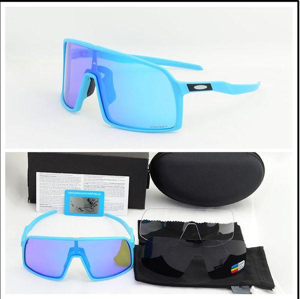 Volle Paketart und weisesonnenbrille polarisierte Radfahrengläser-Mann-Frauen-Fahrrad-rosafarbene Fahrrad-Sport 009406A 3 Paarobjektiv-Radfahrensonnenbrille im Freien