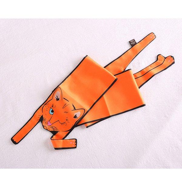 Orange Cat Animal Scarf 10