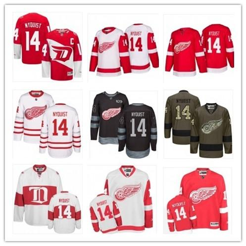 premium selection b4915 1072e 2019 2019 Hockey Jerseys Detroit Red Wings Men/Women/Youth Best 4 Gustav  Nyquist Jersey Custom Name And Number Free Ship Baseball Wear From  Menjersey, ...