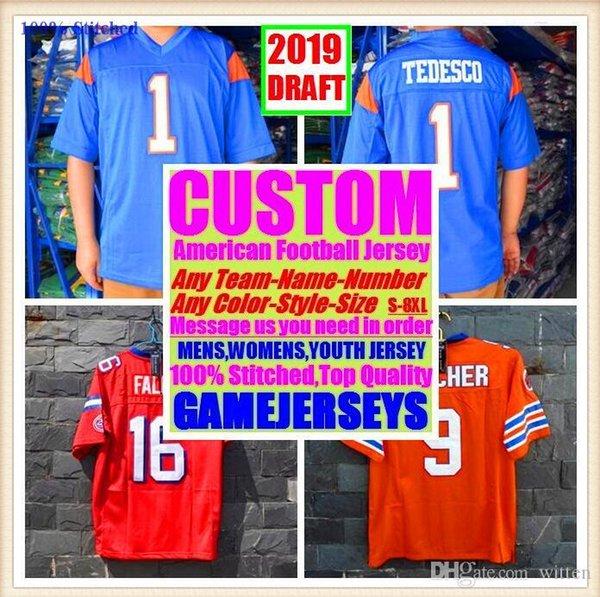 Todos Costurado personalizado camisas de futebol americano Seattle Oakland faculdade autêntica basquete barato basquete mens juventude das mulheres EUA 4xl nome