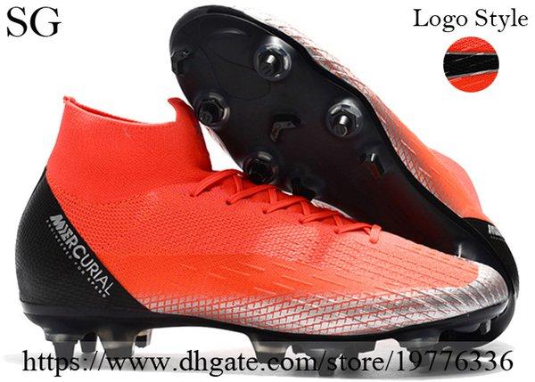 CR7 Red Black