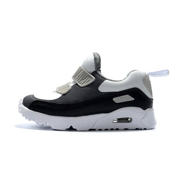 2019 new kids designer shoes baby 90 II shoe Sports Orthopedic Youth Kids trainers Infant Girls Boys high quality running shoes 10 Colors Si