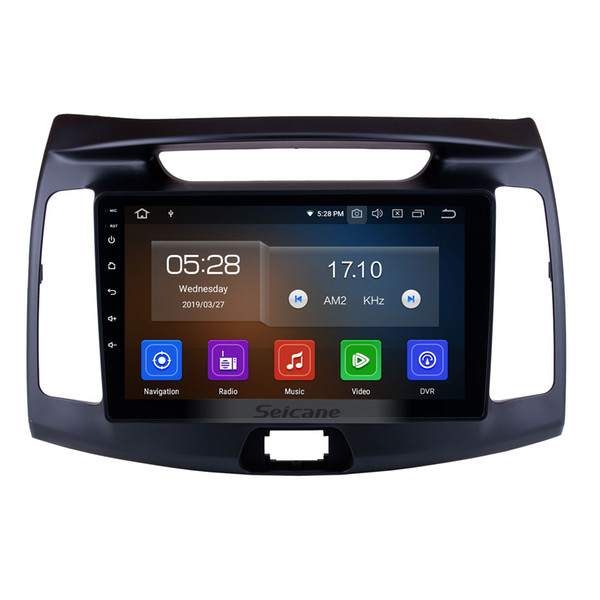 9 Inch Android 9.0 HD Touchscreen Car GPS Navigation system for 2011-2015 Hyundai Elantra with Bluetooth USB support car dvd SWC DAB+ 1080P