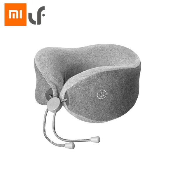 Original Xiaomi LF U-Forma Pescoço Massagem Travesseiro Relaxar Massageador Muscular Pressão de Lançamento Ajuda Sono Travesseiro Trabalho de Casa de Viagem Do Carro uso
