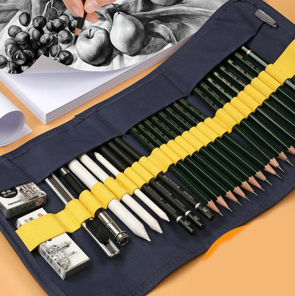 best selling Sketch pencil set beginner painting drawing tools professional students with art supplies painting adult full wholesale