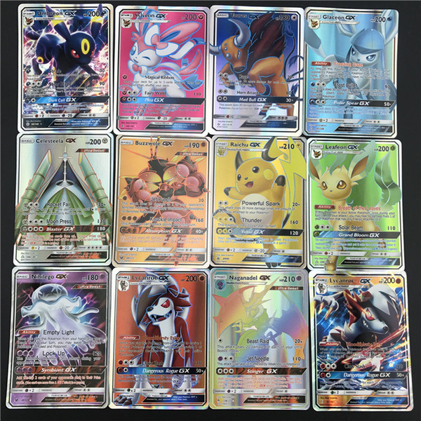 25/50 / 100pcs cartes de jeu de négociation cartes de jeu Collection Card Version Bataille Carte Enfants Jouets T191101