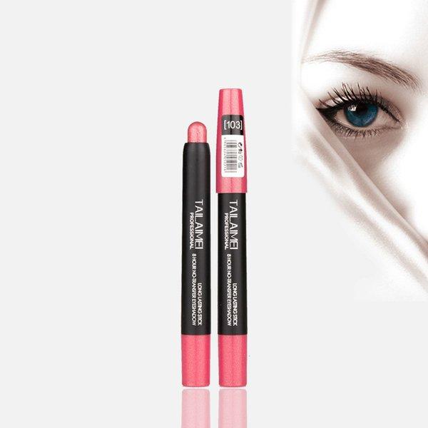 Тени для век перо изюминкой перо лицо ремонт емкость высокий глянец карандаш бар крем многоцветной для губ