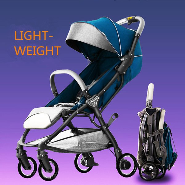Fashion baby stroller lightweight baby pram pushchair can be on the plane hot sale trolley