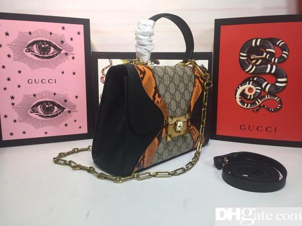 En haute qualité, cuir, mode, haut-de-gamme, sac pour hommes et femmes G, sac à main, sac à bandoulière, sac à dos, modèle 45556, taille26cm18cm10.5cm