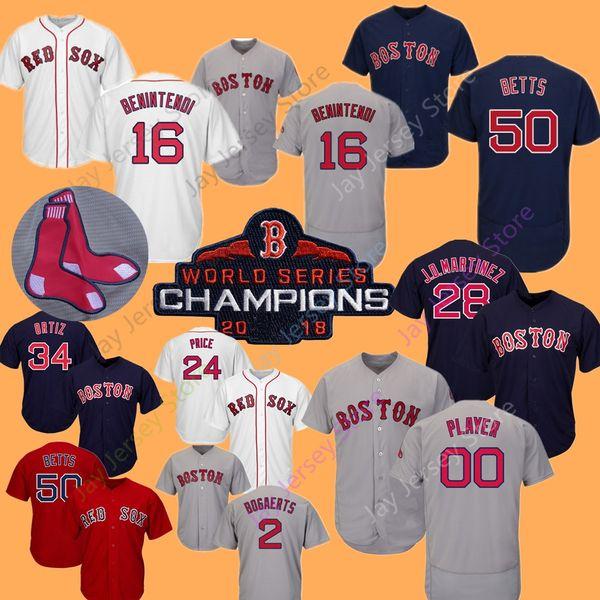 newest b2933 0ccc1 Mookie Betts Andrew Benintendi Jersey Boston Red Sox 2018 World Series  Jersey Bogaerts Pedroia Bradley Sale Martinez Ortiz Price Martinez UK 2019  From ...