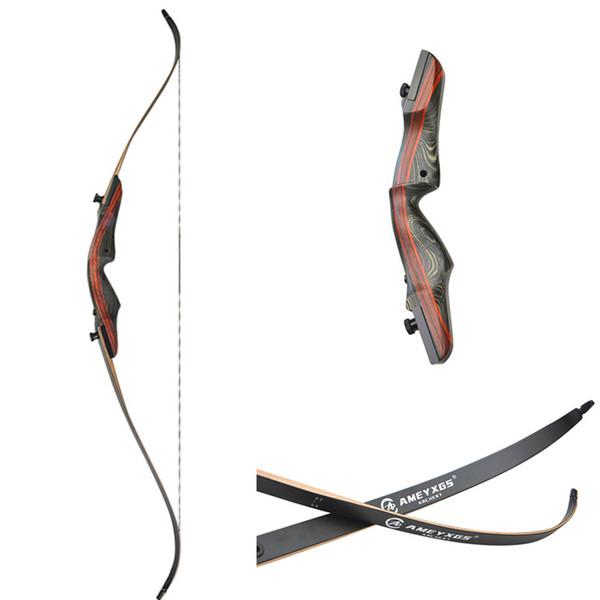 Maple tiro com arco arco recurvo mão direita 20 lbs 30 lbs 50 lbs para escolher tiro com arco tiro ao ar livre arco longo americano para adultos