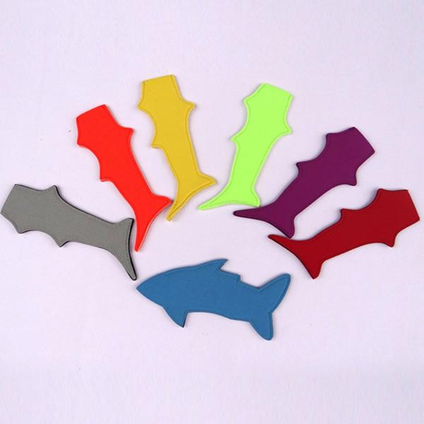 Горячий держатель для мороженого Новый набор акул мороженое на палочке красочные летние инструменты для мороженого Ice Pop детские подарки T2I5015
