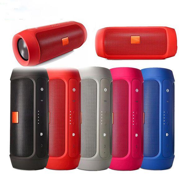Беспроводные Bluetooth-динамики Универсальный портативный Charge2 + IPX5 Водонепроницаемый Bluetooth-динамик с зарядным устройством 2400 мАч для смартфонов