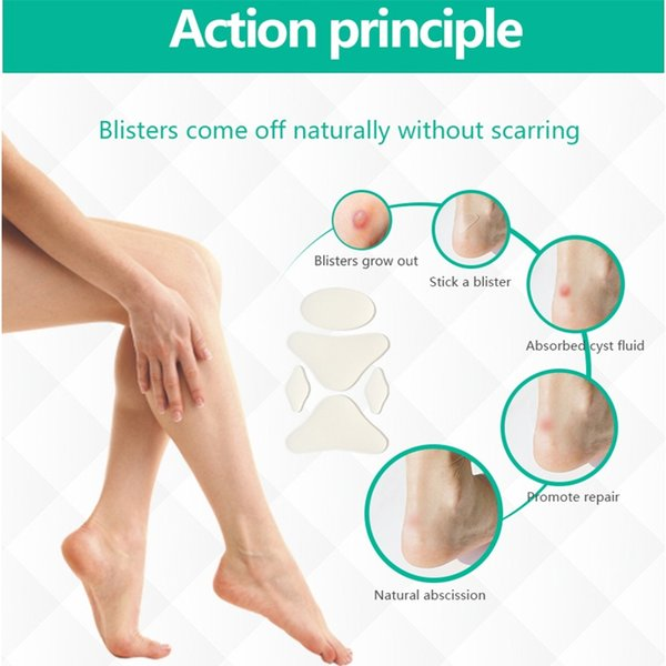 2019 Blister Prevention Patches For Runners Foot Pain High Heels Tennis Shoes Athletes Hydrocolloid Blister Patch 1 Box #746394 From Feiteng001, $27.6