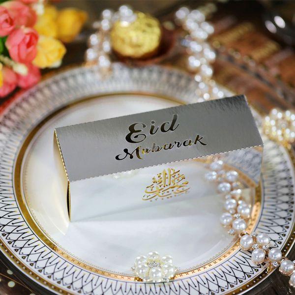 Silber-Eid Rechteck 12X4X4CM 20pcs