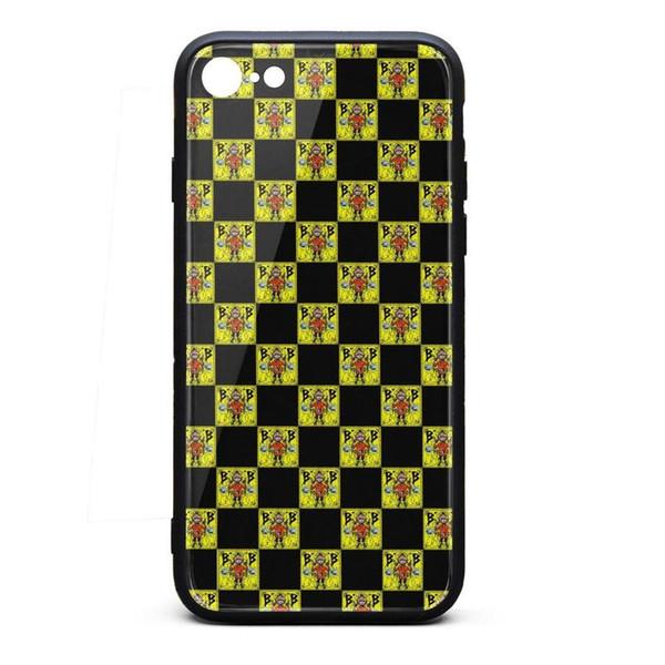 Custodia IPhone 8 Case Custodia iPhone 7 Caso Malone classico antigraffio TPU Custodia morbida in silicone per telefono