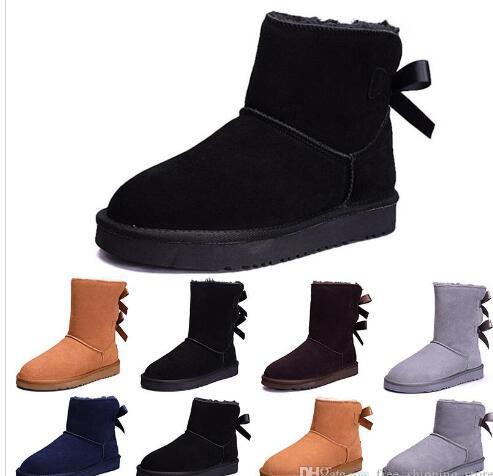 2019 Novas mulheres WGG Austrália Clássico botas de inverno neve Casal sapatos moda desconto Ankle Knee shoes tamanho 5-12