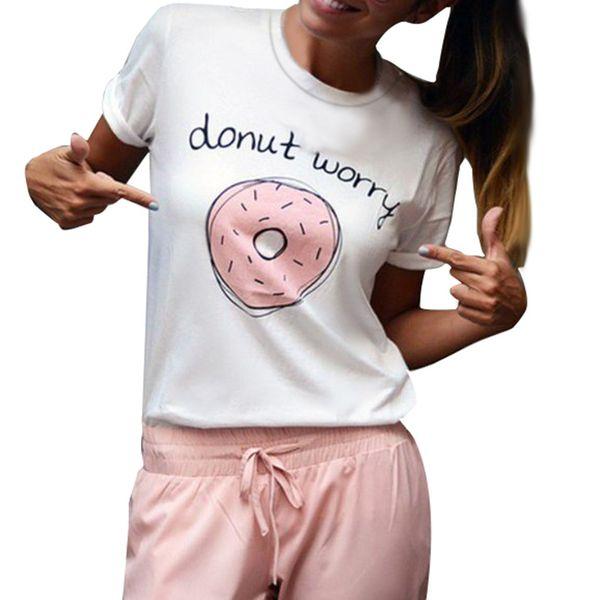 Plus Size 4xl Verão 2019 T Shirt Mulheres Carta Branca Imprimir Camisa de Manga Curta Mulheres Streetwear Tshirt O Pescoço Mulher Roupas