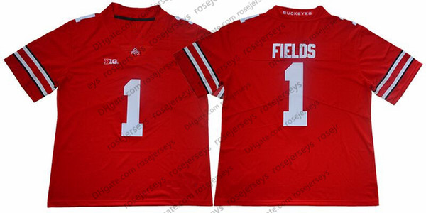 1 Justin Fields Red