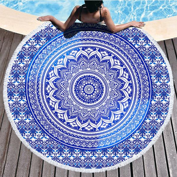 DHL Indian Mandala Beach Side Carpet