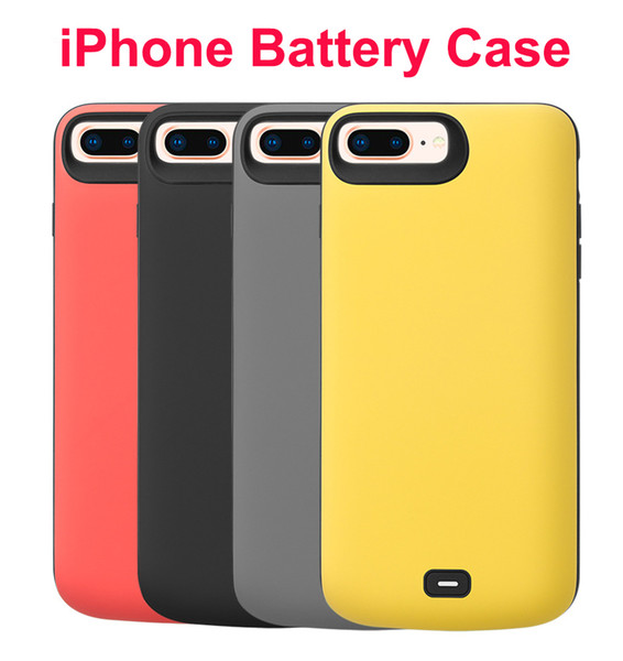 Battery Case Rechargeable External Battery Portable Power Charger Protective Charging Case Power Bank Audio for iPhone 8/7/6s plus 8000mA