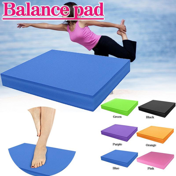 Waterproof Soft Balance Pad TPE Yoga Mat Block Pad Thick Balance Cushion Balancer Fitness Training Yoga Pilates Board