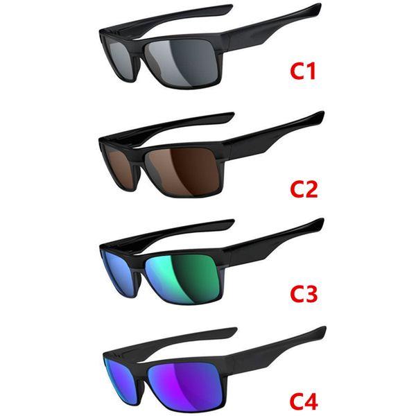 Retro Spor Güneş Gözlüğü Açık Dazzle renk UV400 Tasarımcı SıCAK Gözlük Touring Erkekler Kadınlar için Yansıtıcı Lensler Güneş Gözlüğü Güneş Gözlüğü