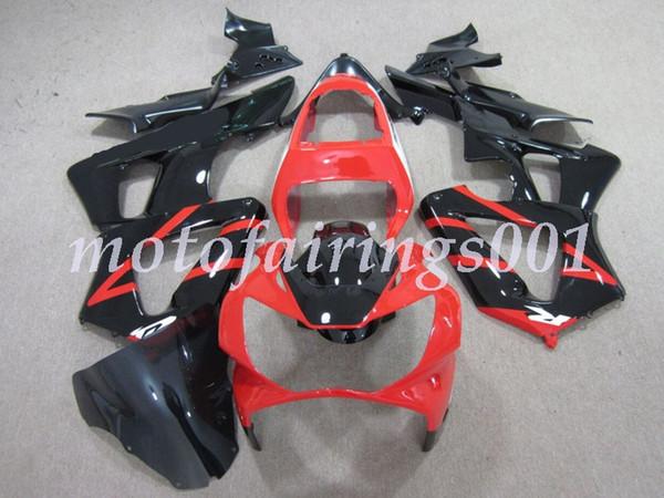4Gifts Custom Injection Mold Новые ABS Обтекатели для мотоциклов, пригодные для HONDA CBR929 2000 2001 CBR929RR F5 CBR 00 01 No1