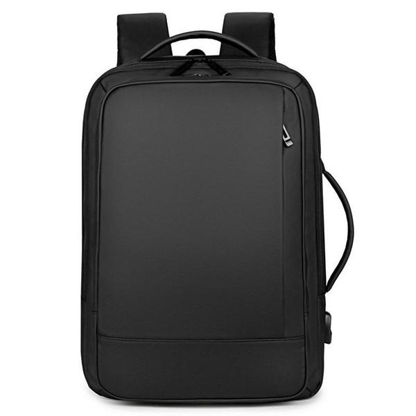 15.6 inç Laptop Su geçirmez sırt çantaları Büyük Kapasiteli Seyahat Sırt Çantası Şarj Akıllı Sırt Çantası Erkekler Erkek Sırt Çantası Usb