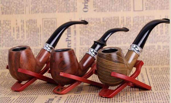 Новый изогнутый молоток дерева смолы трубка молоток портативный фильтр мужской курение