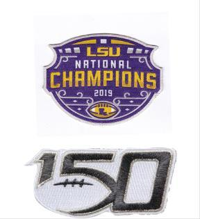 2019 LSU Champions with 150th Patch
