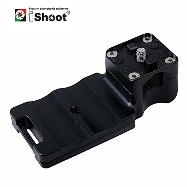 iShoot Lens Collar Foot with Camera Ballhead Quick Release Plate for Canon EF 100-400mm f/4.5-5.6L IS II USM Tripod Mount Ring