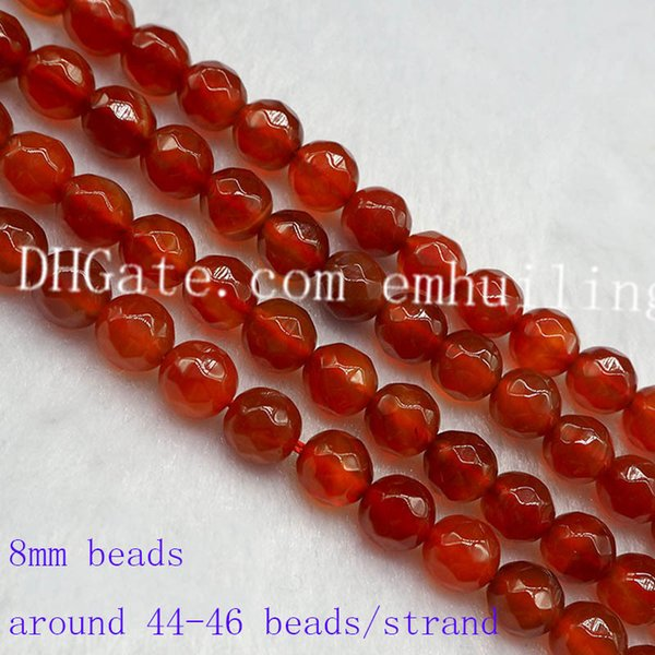 5 strands 8mm beads