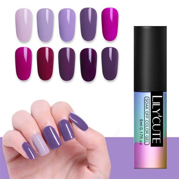 Purple 10Pcs