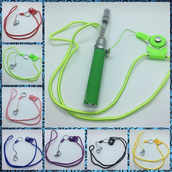 Portable Innovative Design Lanyard Fixed Lock Sling Necklace Rope Finger Toy For EGO EGO-T Vape Ce4 Pen Kit High Quality Hot Cake DHL