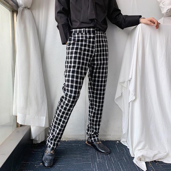 Pantaloni a maniche lunghe da uomo slim fit a manica lunga a vita alta da uomo casual a manica lunga a manica lunga 2019