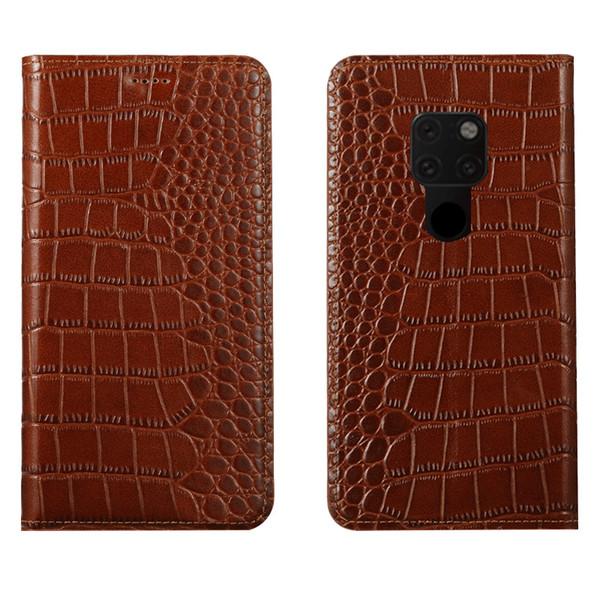 Ultra slim phone case für huawei mate 20 echtes leder luxus case für huawei mate 20 flip case mit kartensteckplatz