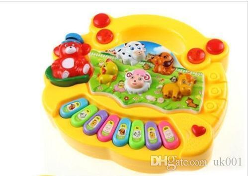 Gift Baby Kids Musical Educational Animal Farm Piano Developmental Music Toy Gifts