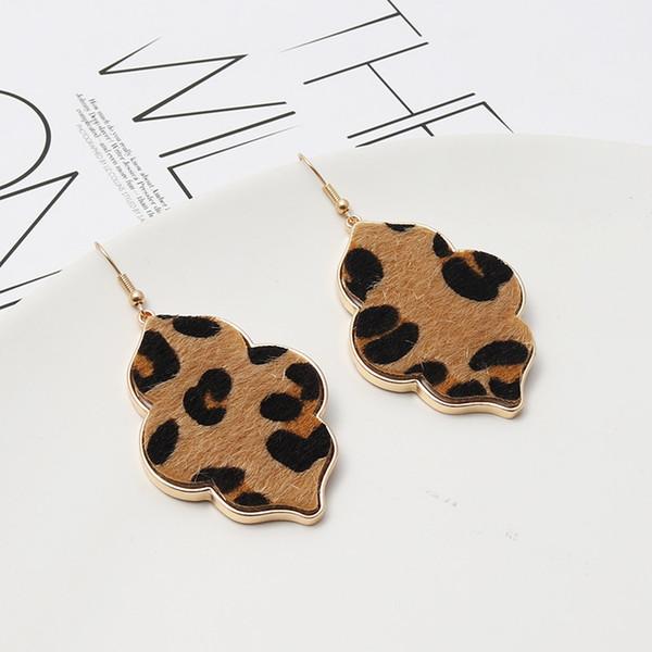 Серьги-Leopard