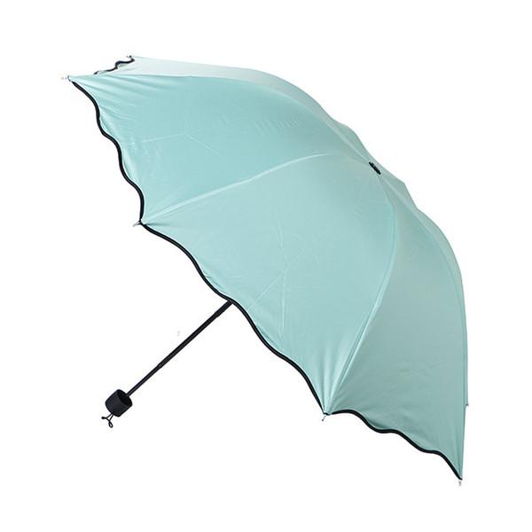 Magic Anti-UV Folding Sun Rain Umbrella Windproof Flowering Umbrella Practical Rain Gear Universal Colors