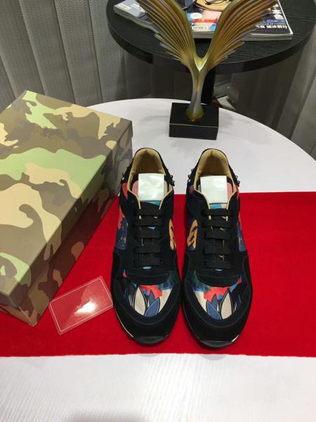 Designer Comfort Scarpe casual Uomo Sport Sneaker Alta qualità con arena Scarpe in velluto Heelback Uomo Escursionismo Trail tennis hy18052205