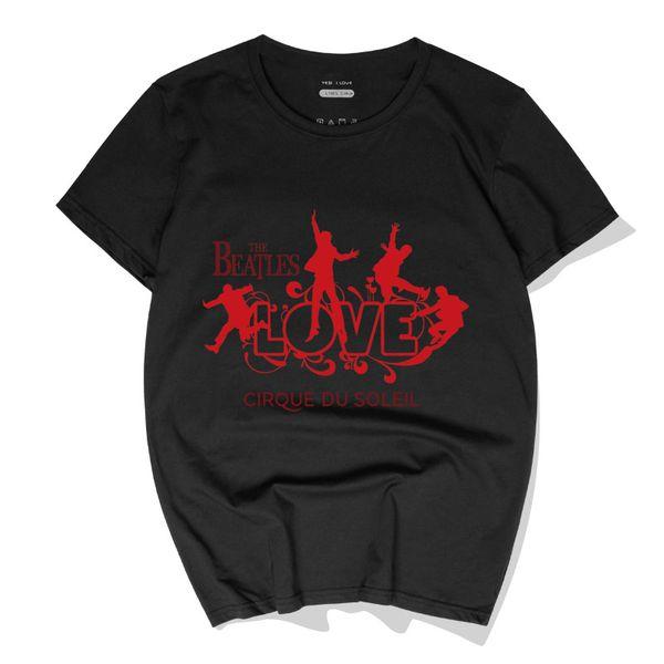 Casual Männer T-Shirts Die Beatles Musik Rock'n'Roll Baumwoll T-shirts Tops Neue Mode Kurzarm Rundhals Polos Hochwertige Streetwear