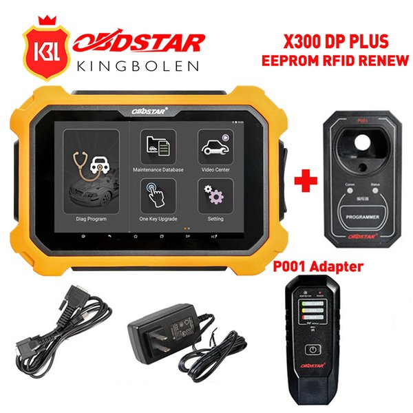 OBDSTAR X300 DP Plus X300DP Auto Key Programmer Pin Code Odometer Correction EEPROM Adapter Digimaster3 EPB ABS Diagnostic-Tool
