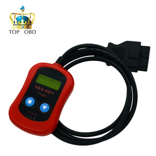 2017 New VAG Key Login Easy to use work by obd2 for audi for v-w pin code reader VAG PIN Code Reader / Key Programmer 2 in 1