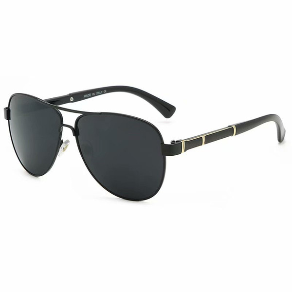 2019 gafas de sol de marca de diseñador para hombres mujeres gafas de sol de metal vintage hombre mujer gafas de diseño gafas de sol deportivas 4 colores