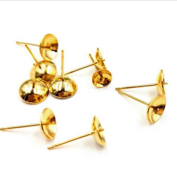 Color:gold color&Size:3mm bezel size