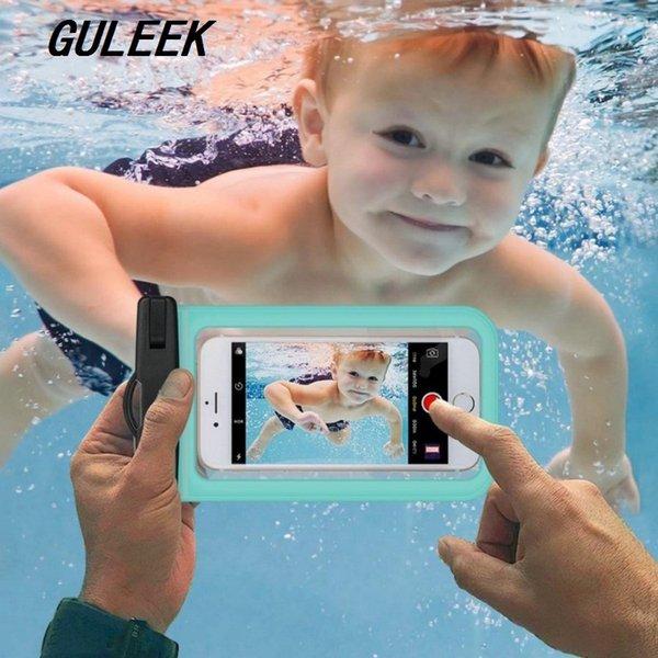 Étui étanche pour sac sous-marin étanche pour téléphone portable pour téléphones Andriod à écran tactile